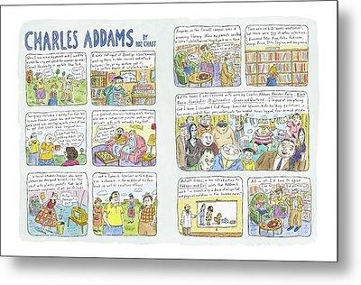 Charles Addams Metal Print