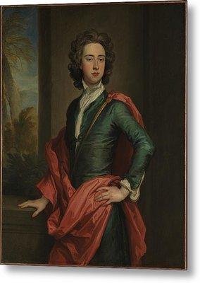 Charles Beauclerk 1670-1726, Duke Metal Print by Sir Godfrey Kneller