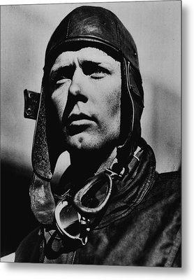 Charles Lindbergh Metal Print