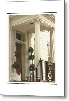 Charleston Architecture 2 Metal Print