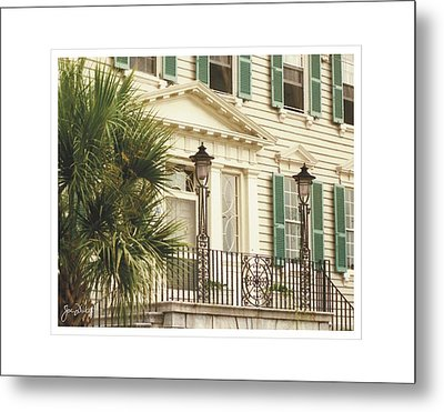 Charleston Architecture 3 Metal Print