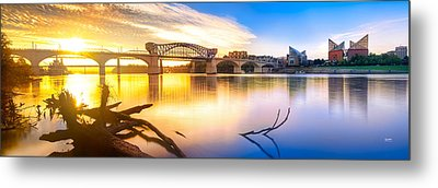 Chattanooga Sunrise 2 Metal Print