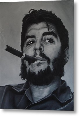 Che Guevara Metal Print by David Dunne