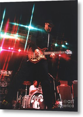 Cheap Trick-95-rick-3 Metal Print by Gary Gingrich Galleries