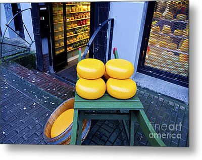 Cheese Metal Print by Pravine Chester