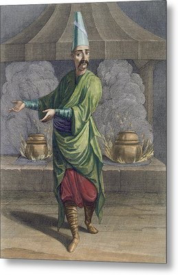 Chef To The Grand Seigneur, Topkapi Metal Print by French School
