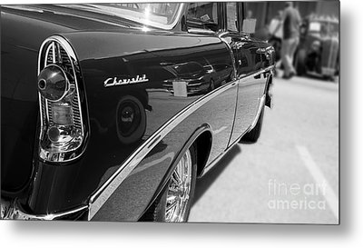 Chevy Reflections Metal Print by Randall  Cogle