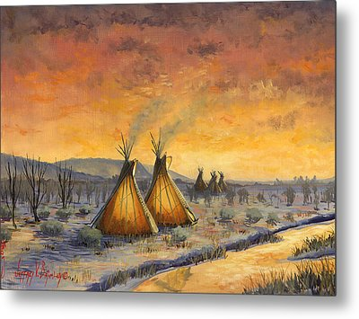 Cheyenne Comfort Metal Print by Jeff Brimley