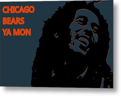 Chicago Bears Ya Mon Metal Print by Joe Hamilton