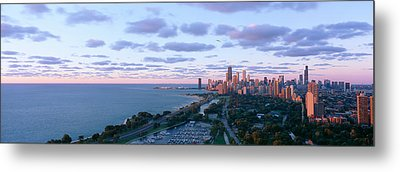 Chicago, Diversey Harbor Lincoln Park Metal Print by Panoramic Images