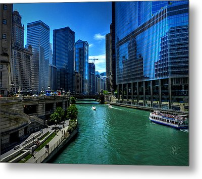 Chicago River 003 Metal Print