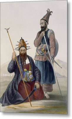 Chief Executioner And Assistant Of His Metal Print by James Rattray