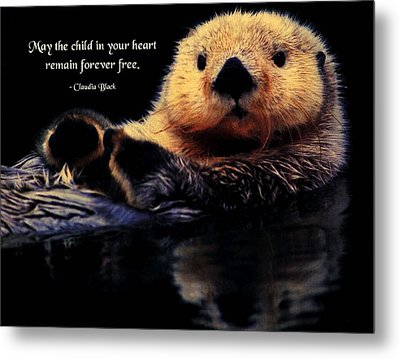 Child In Your Heart Metal Print by Mike Flynn