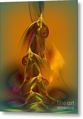 Chinese Horses Metal Print by Greg Moores