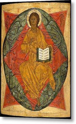 Christ In Glory Metal Print