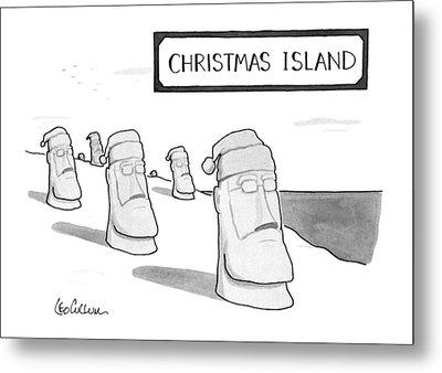 Christmas Island Metal Print