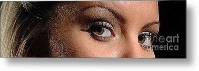 Christy Eyes 89 Metal Print by Gary Gingrich Galleries