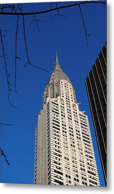 Chrysler Building Metal Print by Robert  Moss
