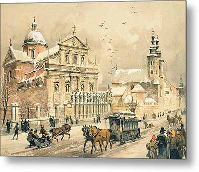 Church Of St Peter And Paul In Krakow Metal Print