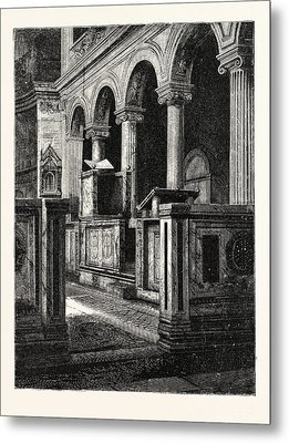 Church Of St. Clemente Metal Print