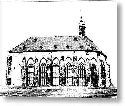 Church Of The Virgin Mary Of Snow Metal Print