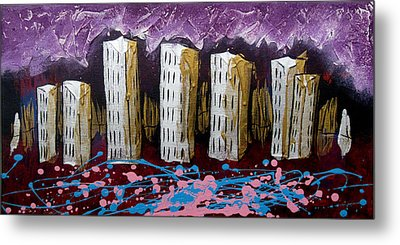 City's Leftovers Metal Print by Nathan Wilson
