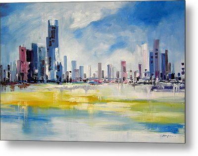 Cityscape Metal Print by Ahmed Amir