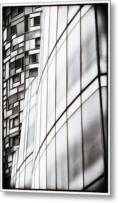 Class And Glass Metal Print by Russell Styles