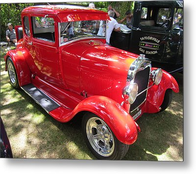Classic Car  Metal Print by Max Lines