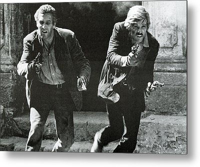Classic Photo Of Butch Cassidy And The Sundance Kid Metal Print