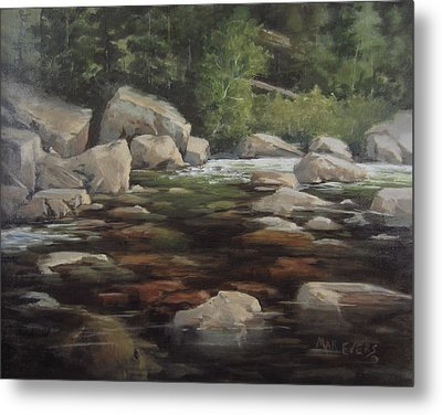 Clear Creek Metal Print
