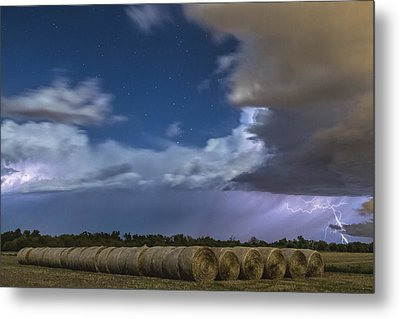 Metal Print featuring the photograph Clearing Storm by Rob Graham