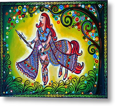 Clement Combatant Metal Print by Deepti Mittal