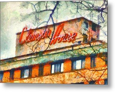 Clemson House Metal Print by Lynne Jenkins