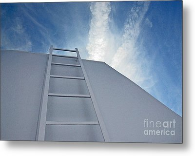 Metal Print featuring the photograph Climb Up by Lena Wilhite