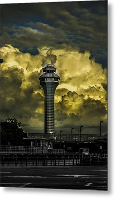 Cloud Control Metal Print by Alan Marlowe