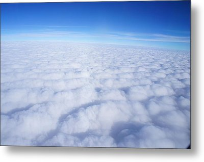 Metal Print featuring the photograph Clouds II by Kristine Bogdanovich
