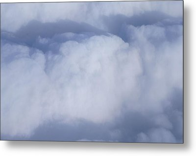 Metal Print featuring the photograph Clouds by Kristine Bogdanovich