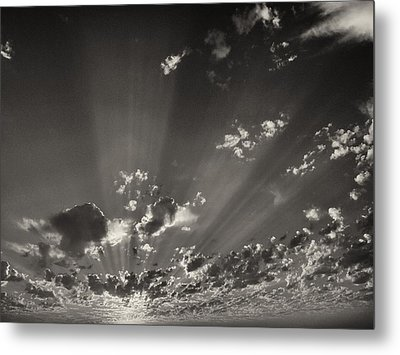 Cloudscape Metal Print by Tom Druin