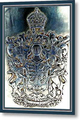 Coat And Armors  Metal Print by Danielle  Parent