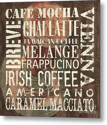 Coffee Of The Day 1 Metal Print by Debbie DeWitt