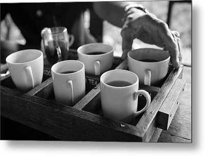 Metal Print featuring the photograph Coffee Tasting - Bali by Matthew Onheiber