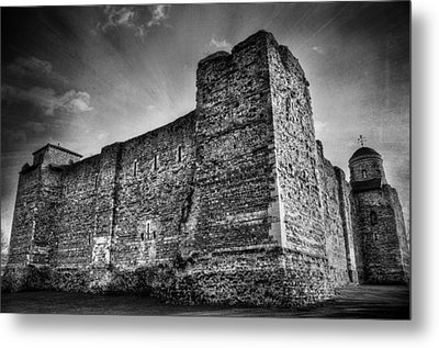 Colchester Castle Metal Print by Svetlana Sewell