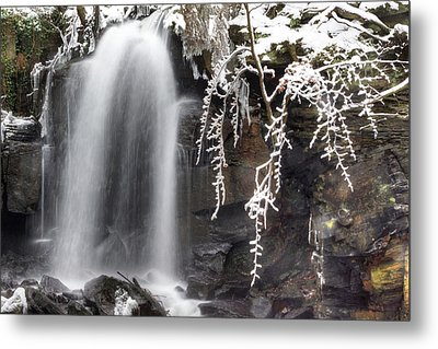 Cold Water Rush Metal Print by David Birchall