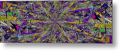 Color Boom Metal Print by Tim Allen
