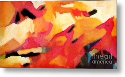 Color Dynamics Metal Print by Lutz Baar