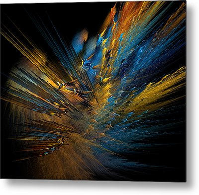 Color Explosion Metal Print by Camille Lopez