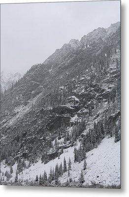 Metal Print featuring the photograph Colorado Storm by Kristine Bogdanovich