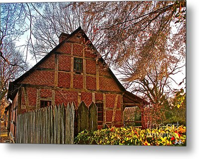 Metal Print featuring the photograph Colored Late Fall by Geri Glavis