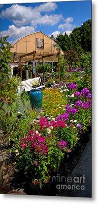 Colorful Greenhouse Metal Print